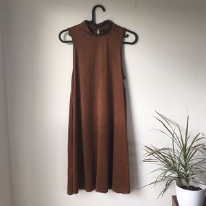 Rue 21 brown dress or tunic — feels like moccasins